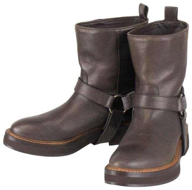Item - Brown Leather Ankle 36.5/6.5 Boots/Booties Size US 6.5 Regular (M, B)