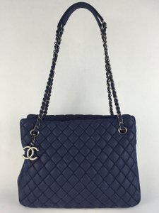 Chanel Tote in Midnight Blue