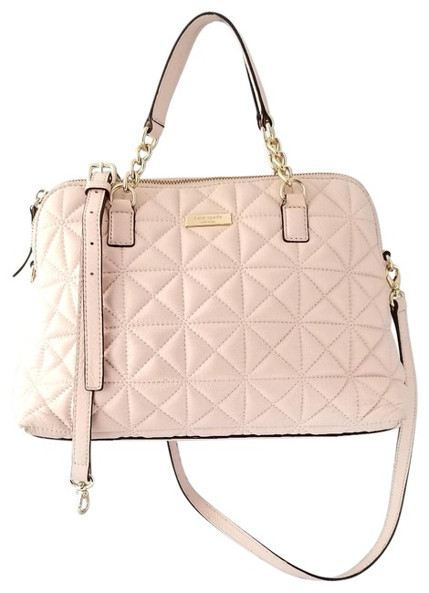 Item - Small Rachelle Quilted Wkru3277 Pink Leather Satchel