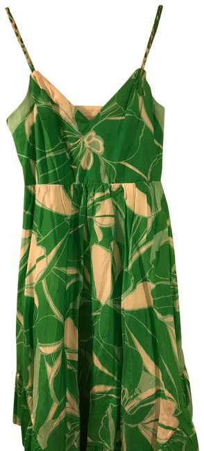 Item - Green 21bd54 Mid-length Night Out Dress Size 4 (S)