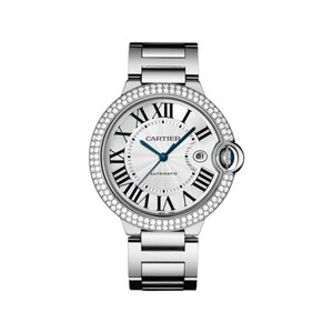 Cartier Cartier Steel Mens Ballon Bleu 42mm