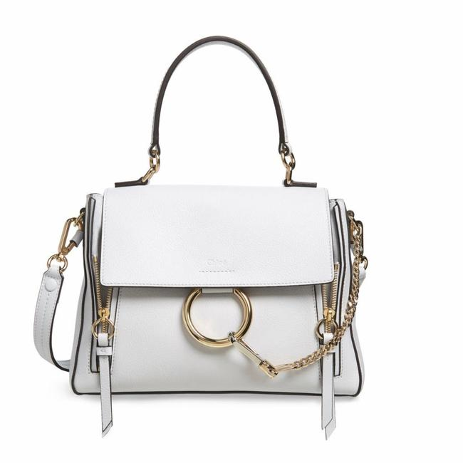 Item - Faye Day In Light Cloud White Leather Shoulder Bag