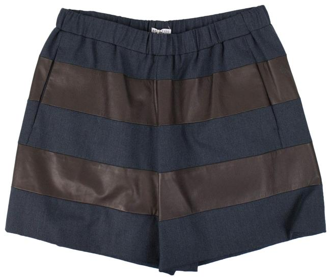 Item - Brown/Gray Brown/Gray Wool Blend 6/42 Shorts Size 6 (S, 28)