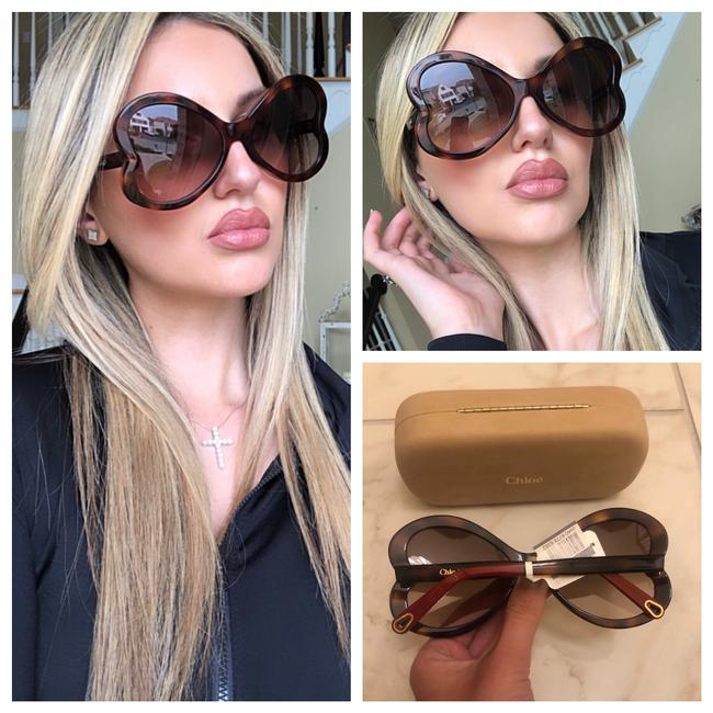 Item - Brown Butterfly Sunglasses