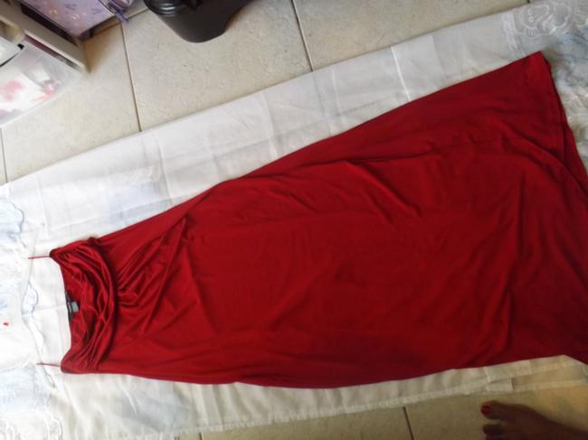 red Maxi Dress by Arden B.