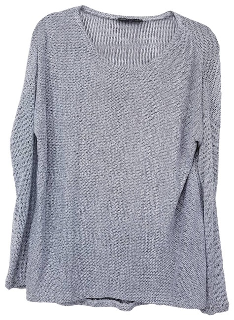 Item - Shimmer Sparkle Knit Gray Sweater