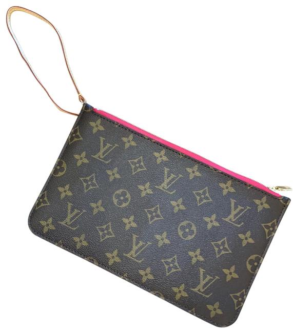 Item - Brown Neverfull Mm Pouch Wallet