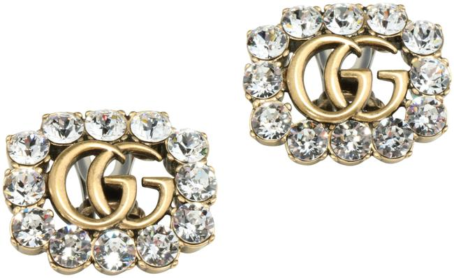 Item - Aged Gold Marmont Gg Earrings