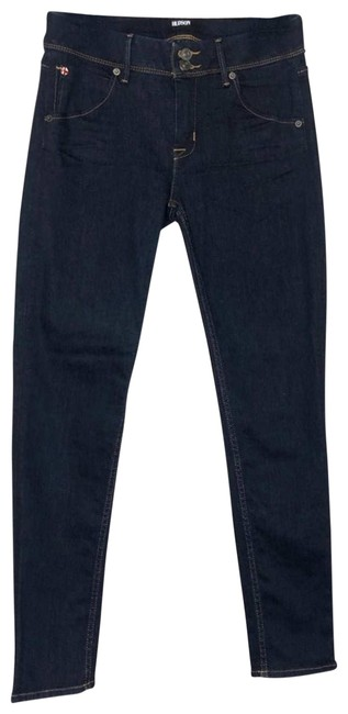 Item - Blue Dark Rinse Collin Flap Mid-rise Ankle Skinny Jeans Size 28 (4, S)