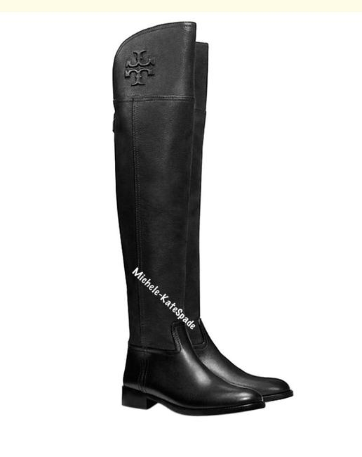 Item - Black 7.5m Simone Over The Knee 35mm Vintage Buffalo Boots/Booties Size US 7.5 Regular (M, B)