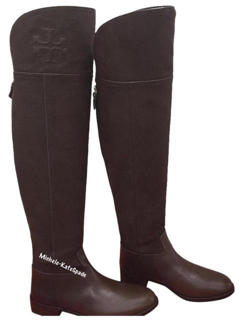 Item - (Chocolate Brown ) 7.5m Simone Over The Knee 35mm Vintage Buffalo Boots/Booties Size US 7.5 Regular (M, B)
