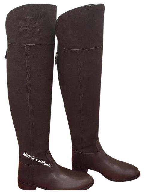 Item - (Chocolate Brown) 9.5m Simone Over The Knee 35mm Vintage Buffalo Boots/Booties Size US 9.5 Regular (M, B)