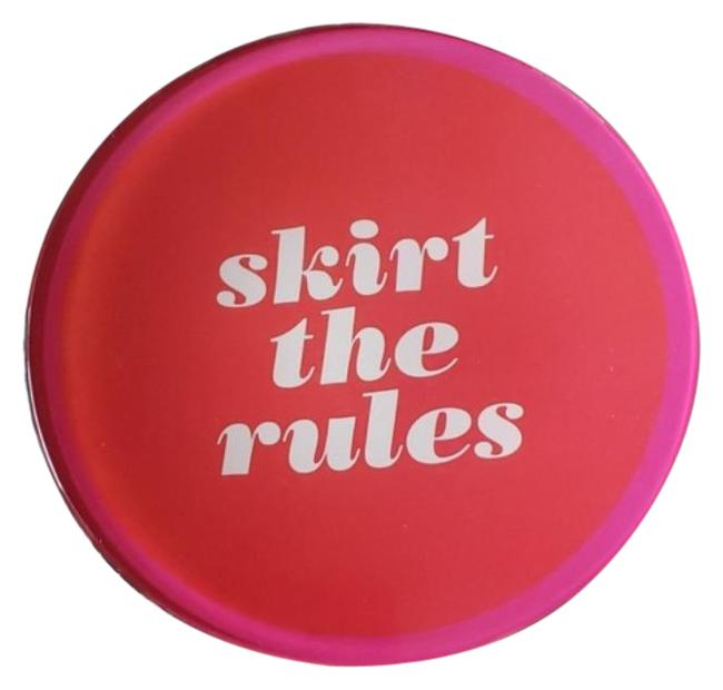 Item - Pink Red Skirt The Rules Dish New