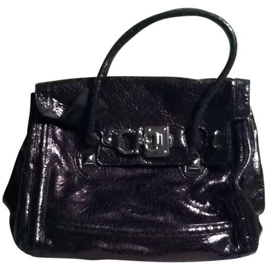 Steve Madden Satchel in black patent