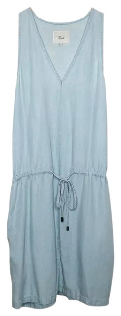 Item - Chambray Short Casual Dress Size 6 (S)