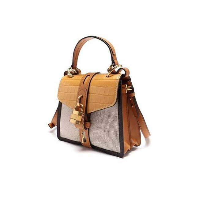 Item - Aby Small In Honey Gold Color Beige Cross Body Bag