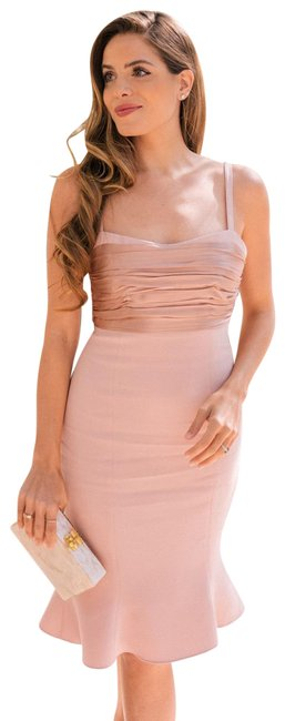 Item - Pink Paloma Fit and Flare Mid-length Cocktail Dress Size 8 (M)