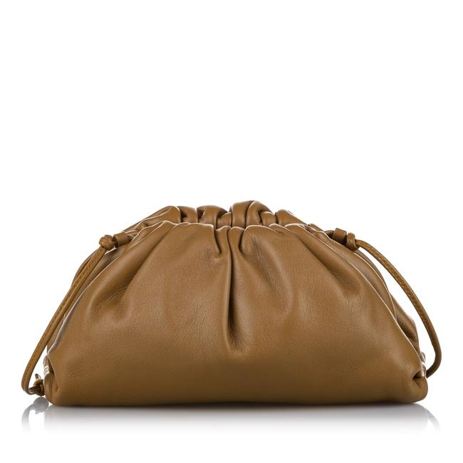 Item - The Mini Pouch Brown Leather Cross Body Bag