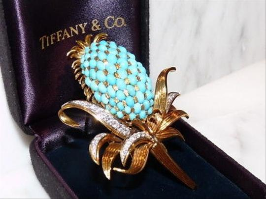 Other Vintage Tiffany Co. France 18kt Gold Diamond Brooch
