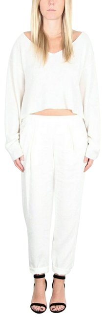Item - Easy In Dirty White Activewear Bottoms Size 2 (XS, 26)
