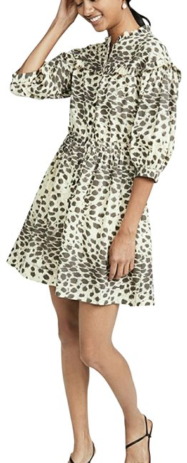 Item - Leo Tired Tent Short Casual Dress Size 6 (S)