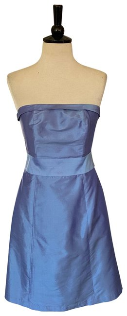 Item - Periwinkle Adorable Silk Short Casual Dress Size 2 (XS)