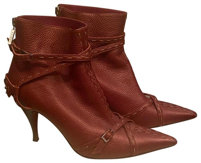 Item - Burgundy Selleria Ankle Boots/Booties Size EU 38.5 (Approx. US 8.5) Regular (M, B)