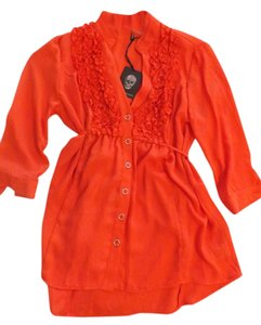 love haight Top Orange