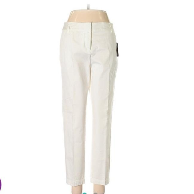 Item - White Ankle New Pants Size 4 (S, 27)