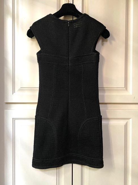 Chanel Black Lbd Mess Sleeveless Fitted Mini In Short Casual Dress Size 6 (S) Chanel Black Lbd Mess Sleeveless Fitted Mini In Short Casual Dress Size 6 (S) Image 2