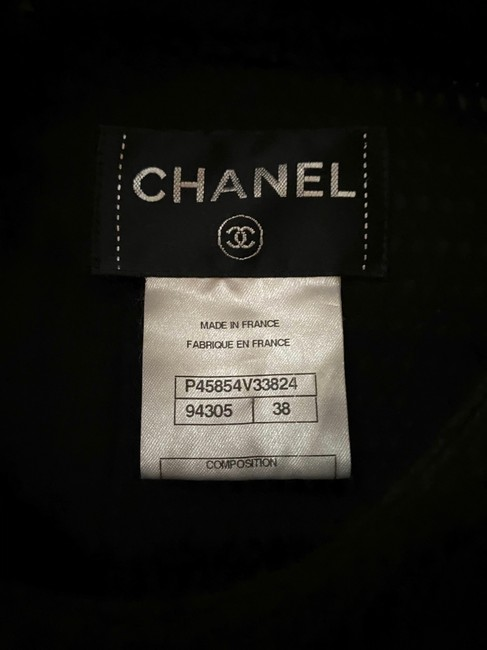 Chanel Black Lbd Mess Sleeveless Fitted Mini In Short Casual Dress Size 6 (S) Chanel Black Lbd Mess Sleeveless Fitted Mini In Short Casual Dress Size 6 (S) Image 3
