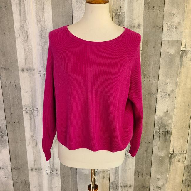 Item - Ribbed Berry Pink Sweater
