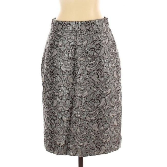 Item - Silver Gray Lace Pencil Skirt Size 2 (XS, 26)