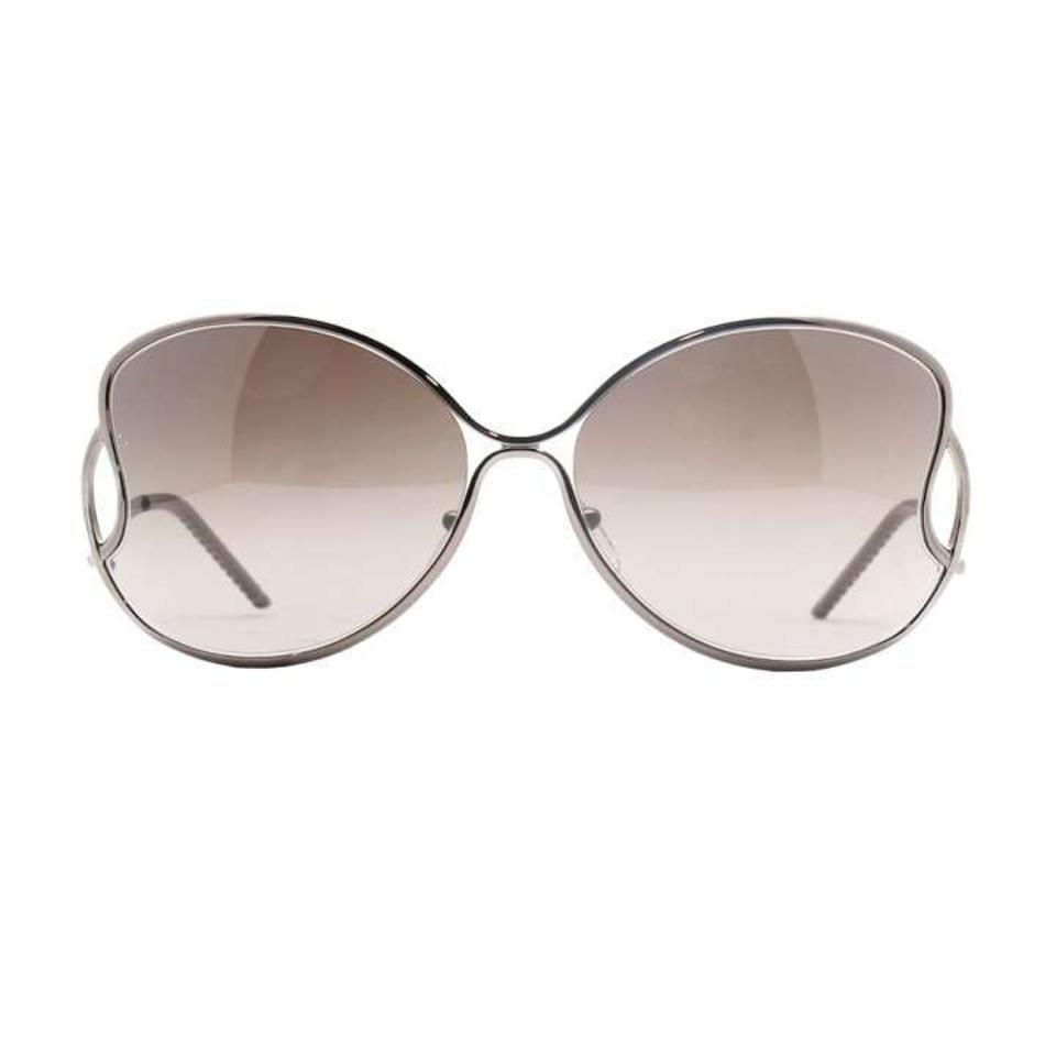 f33604214df7 Fendi Fendi FS 5178 705 Oversized Butterfly Metallic Brown Sunglasses Image  3. 1234