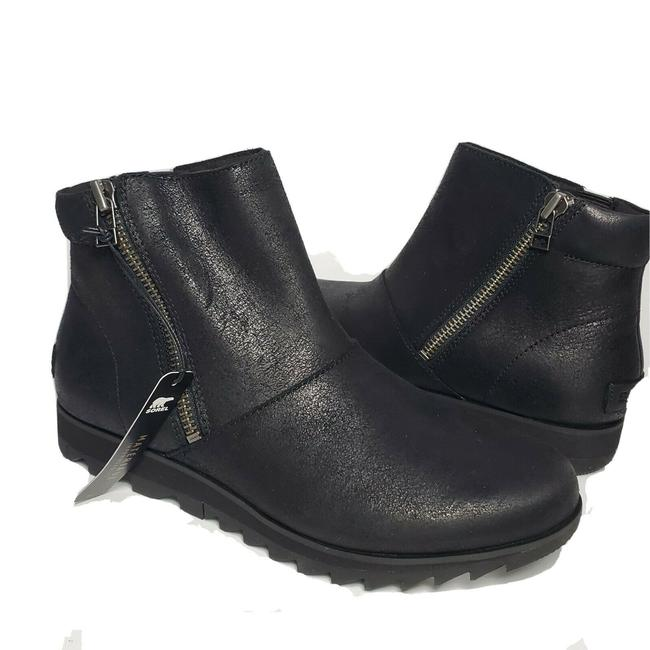 Item - Black Ankle Harlow Leather Boots/Booties Size US 8 Regular (M, B)