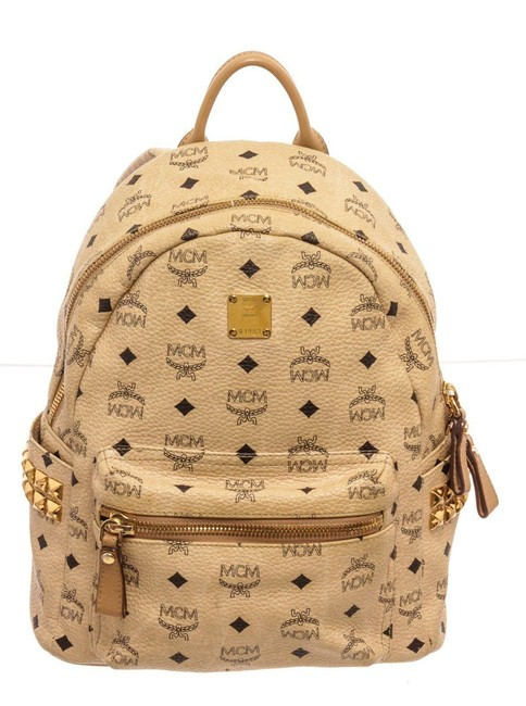 Item - Yellow Visetos Coated Canvas Backpack