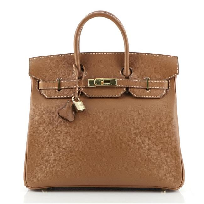 Item - Birkin Hac Courchevel with Hardware 32 Gold (Brown) Leather Tote