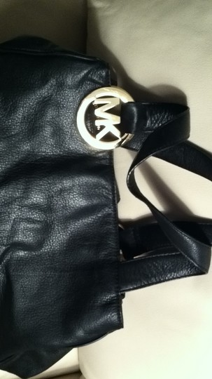 Michael Kors Satchel in black leather