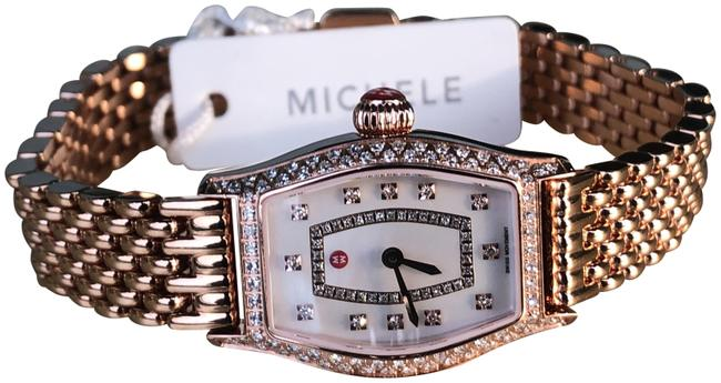 Item - Pink Gold Urban Coquette White Mop Diamond Dial Watch