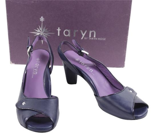 Taryn Rose Navy Pumps