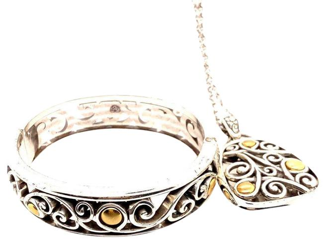 Item - Yellow Necklace and Bangle Set