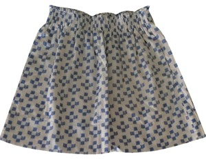 Madewell Skirt White/Blue