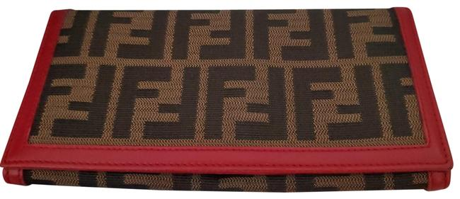 Item - Brown and Pink Long Wallet