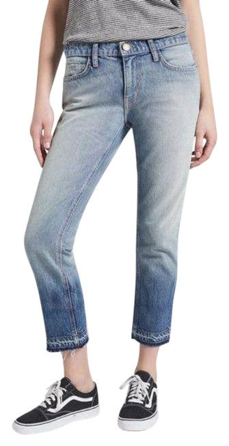 Item - Blue Acid  The Straight Mid-rise Capri/Cropped Jeans Size 25 (2, XS)