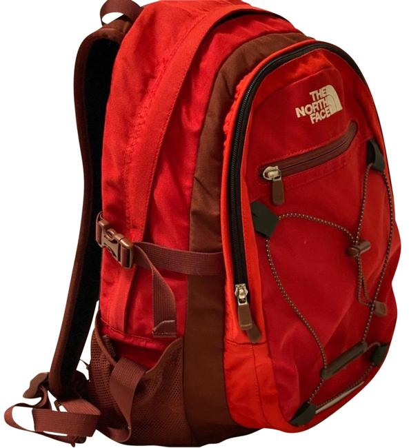 Item - Isabella Red Polyester Backpack