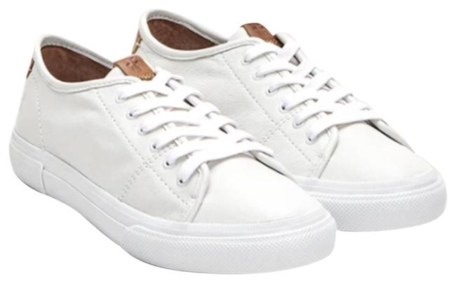 Item - White Gia Low Lace Leather Nwob Sneakers Size US 9 Regular (M, B)