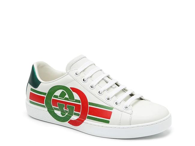Item - White Red and Green Men's Unisex Can Fit Women 39 Sneakers Size US 6 Regular (M, B)