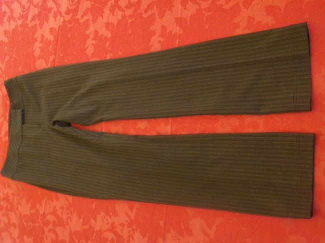 Alfani Trouser Pants Brown with stripe red and yellow