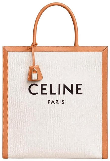 Item - Bag Summer Natural Tan Canvas Leather Tote