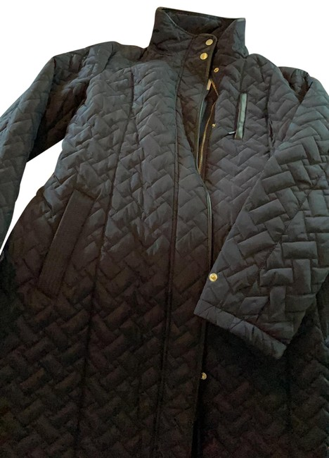 Item - Navy Quilted Jacket Size 12 (L)